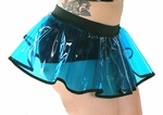 Clear UV Blue vinyl skirt