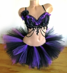 Dark Fairy Rave Outfit