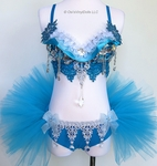 Frozen Inspired Rave Outfit