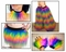 Furry Rainbow Rave Outfit