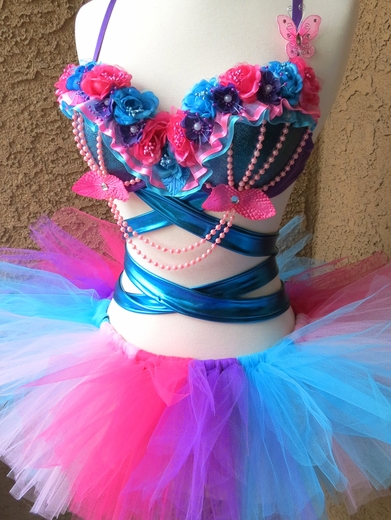 Garden Pixie Rave Outfit