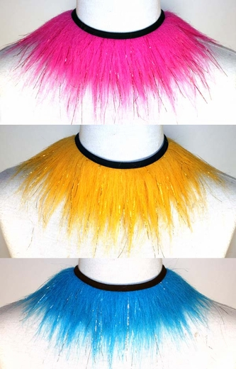Glitter Fluffy Choker - Pick Your Color!