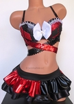 Harley Quinn inspired Rave Outfit
