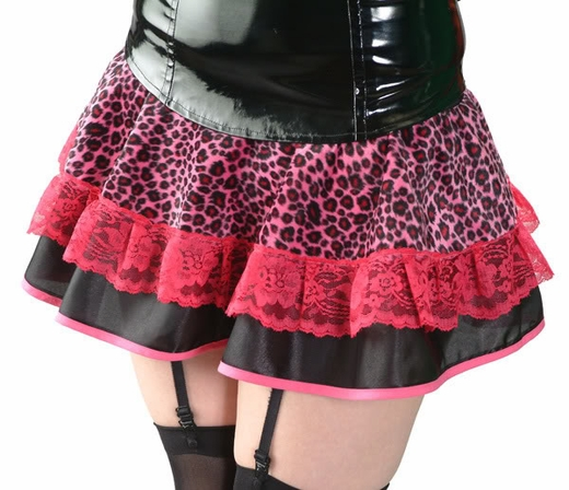 Hot Pink Spotted Skirt