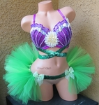 Little Mermaid Rave Outfit