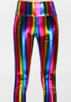 Metallic Rainbow Rave Leggings