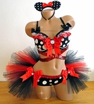 Minnie Mouse Rave Outfit