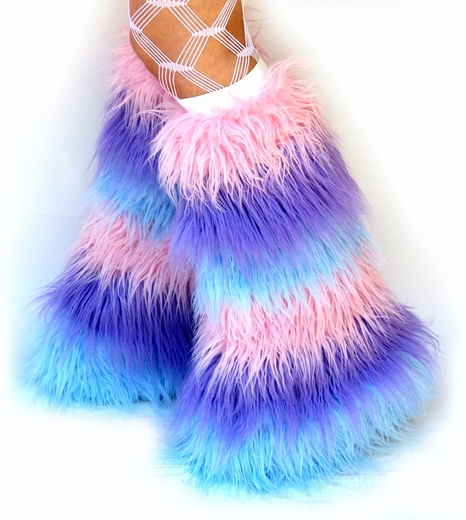 Pastel Fluffies, Light Pink, Baby Blue, Lilac