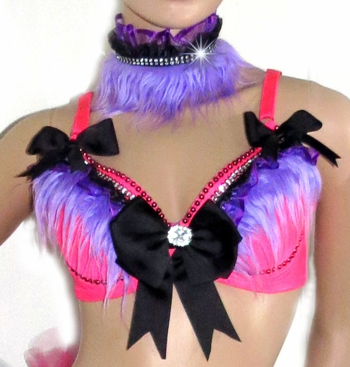 Pink Lavender Princess Full Rave Outfit