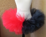Red Black Harley Quinn inspired TuTu
