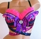 Sparkle Cheshire Cat Rave Bra