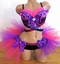Sparkle Cheshire Cat Rave Outfit