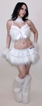 Sparkle White Rave Outfit