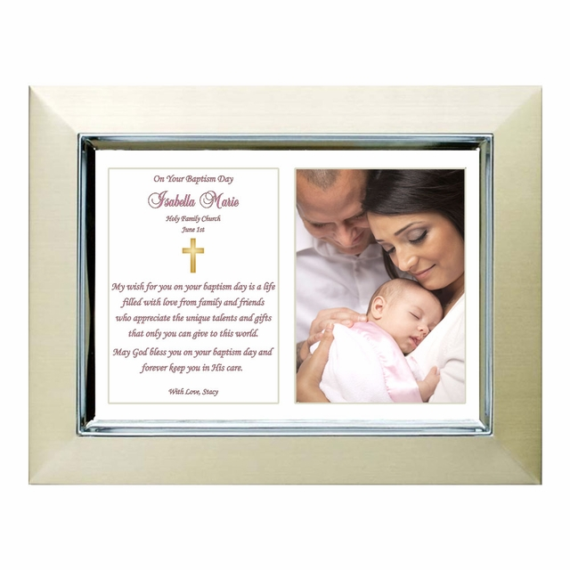 Baptism Poetry Gift for Girl