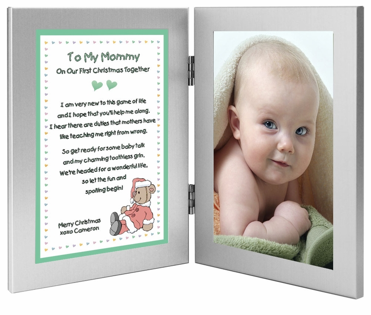 Mommy First Christmas Together Frame