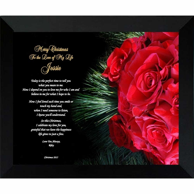 personalized christmas love poem