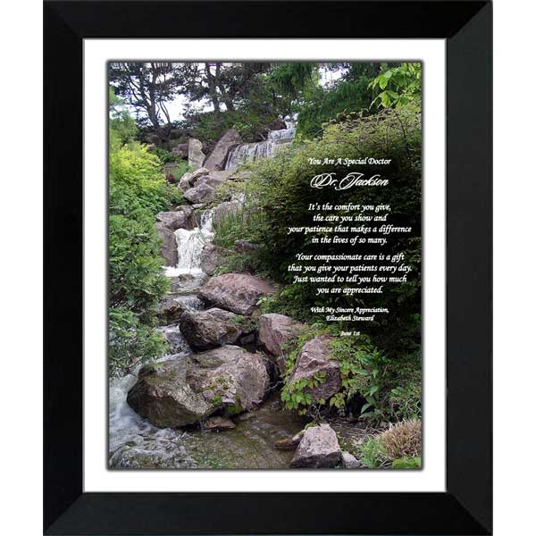 Doctor Gifts - Personalized Poem Gift