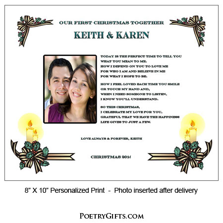Christmas Together - Poetry Gift