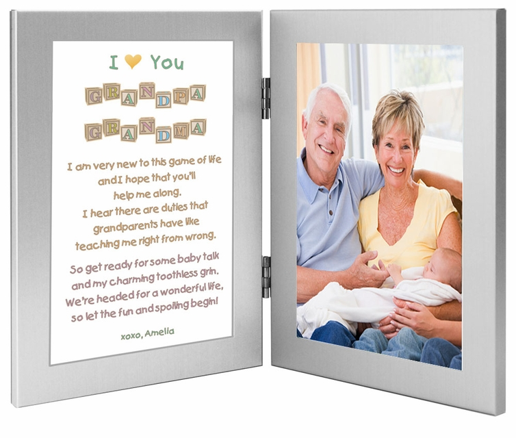 Baby Gift Ideas For New Grandparents : Gift for grandparents from new grandchild