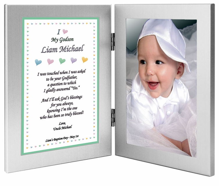 Godson or Goddaughter Gift From Godmother - Baptism or Christening ...