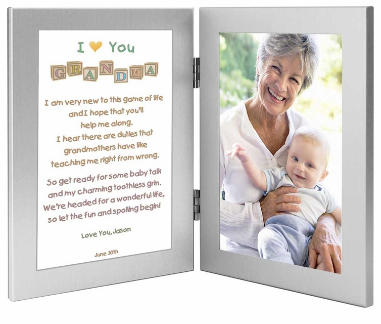 Grandma Birthday Or Mothers Day Frame