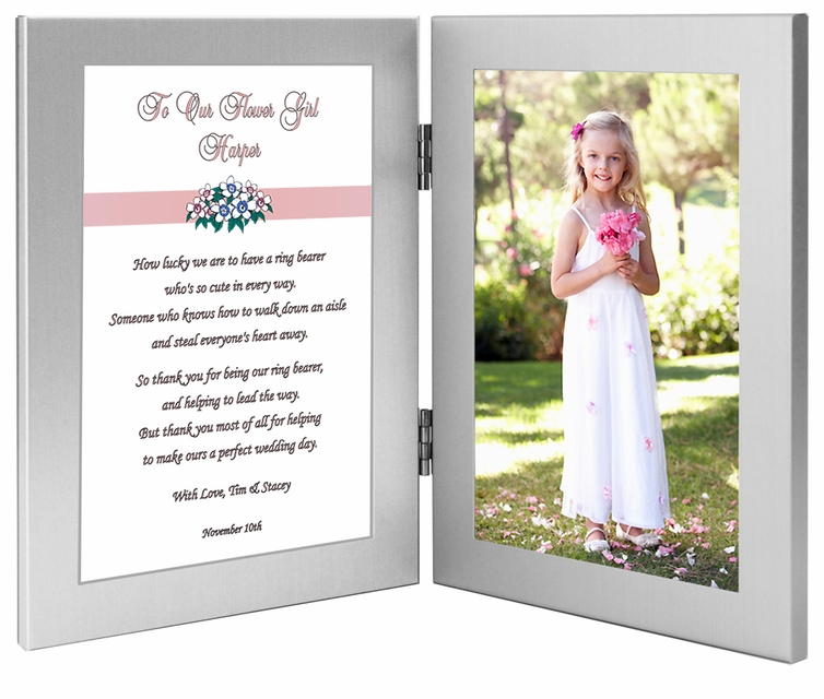 Personalized Flower Girl Gift - Add Photo