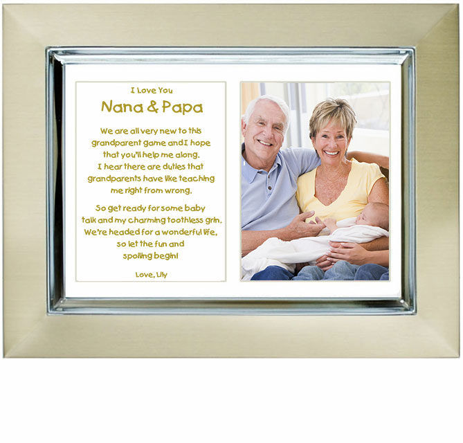 Personalized Gift For New Grandparents