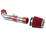 00-02 Lincoln LS 3.0L V6 Short Ram Air Intake - Red