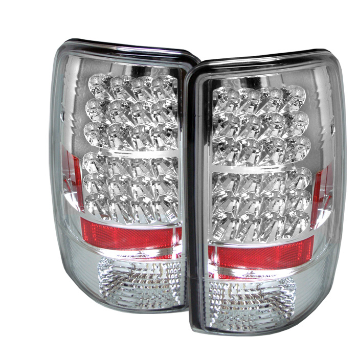 00 06 Chevy Tahoe Suburban Yukon Euro Led Tail Lights