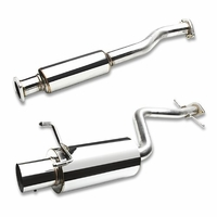"01-05 Lexus Altezza IS300 2Jz-Ge Xe10 4"" Muffler Tip Catback Exhaust"