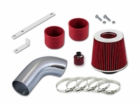 02-05 Audi A4 / A6 3.0L V6 Short Ram Air Intake Kit - Red