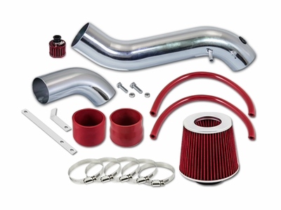 02-04 Oldsmobile Bravada 4.2L V6 Short Ram Air Intake Kit - Red