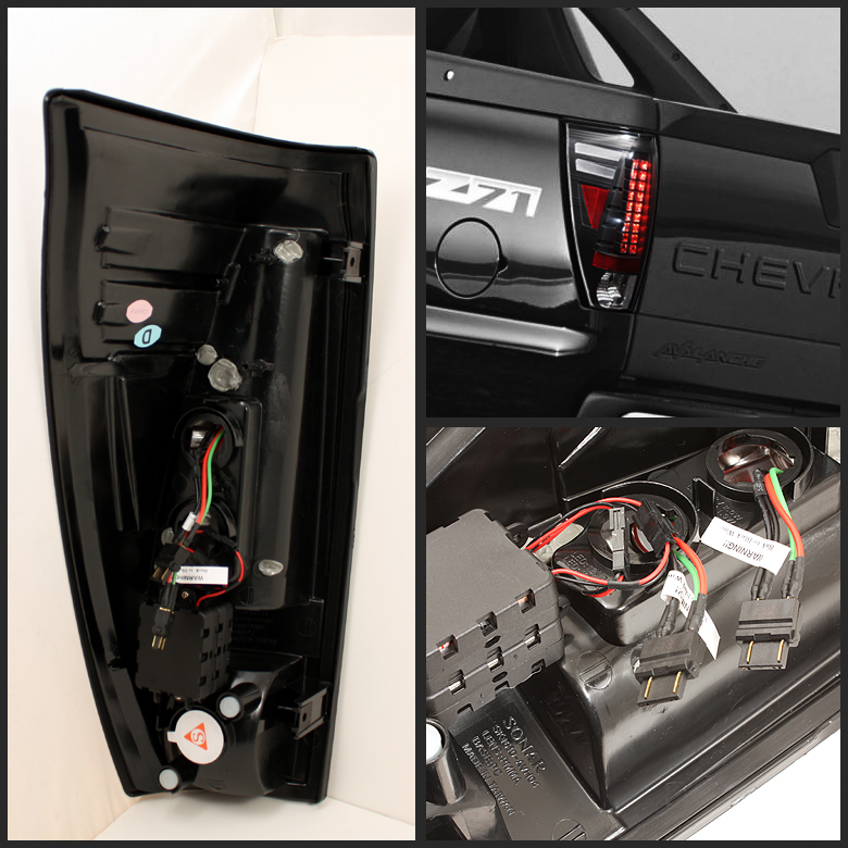 02 06 chevy avalanche euro style led tail lights chrome alt yd cav02 led c by spyder 24 02 06 chevy avalanche euro style led tail lights chrome 111 2002 chevy avalanche tail light wiring diagram at bayanpartner.co