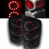 02-06 Dodge Ram 1500 2500 Euro Style LED Tail Lights -  Smoked ALT-ON-DRAM02-LED-SM By Spyder
