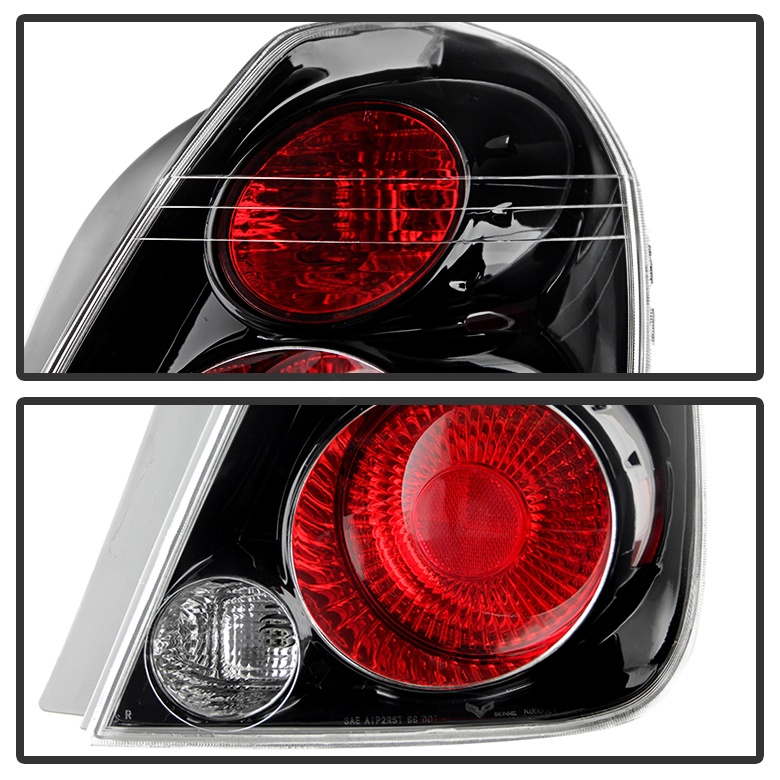02 06 Nissan Altima Oem Style Replacement Tail Lights Pair Black