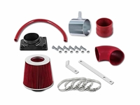 02-07 Mitsubishi Lancer 2.0L L4 Short Ram Air Intake Kit - Red