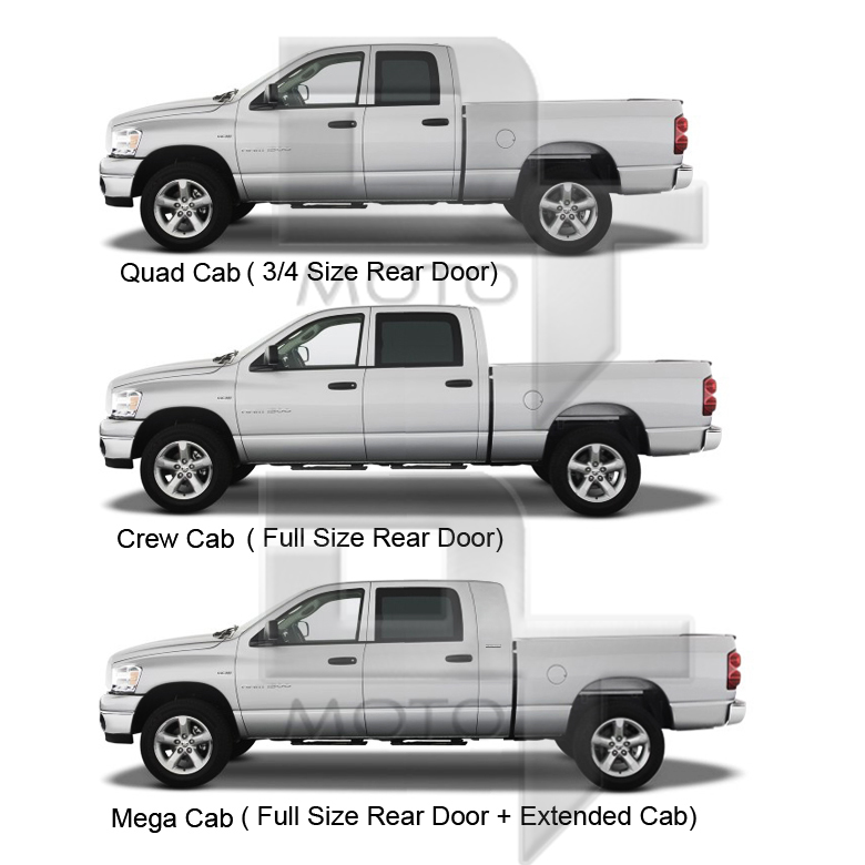 crew cab and quad cab difference autos post. Black Bedroom Furniture Sets. Home Design Ideas