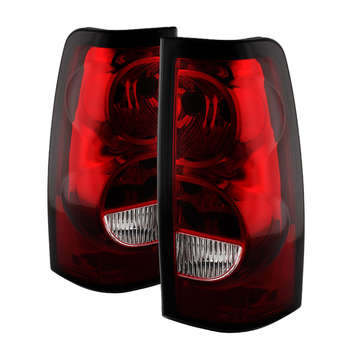 03 06 Chevy Silverado Oem Style Replacement Tail Lights