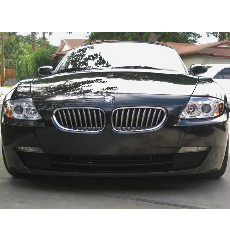Bmw Z4 For Sale Used: HID Xenon + 03-08 BMW Z4 E85 Angel Eye Halo Projector