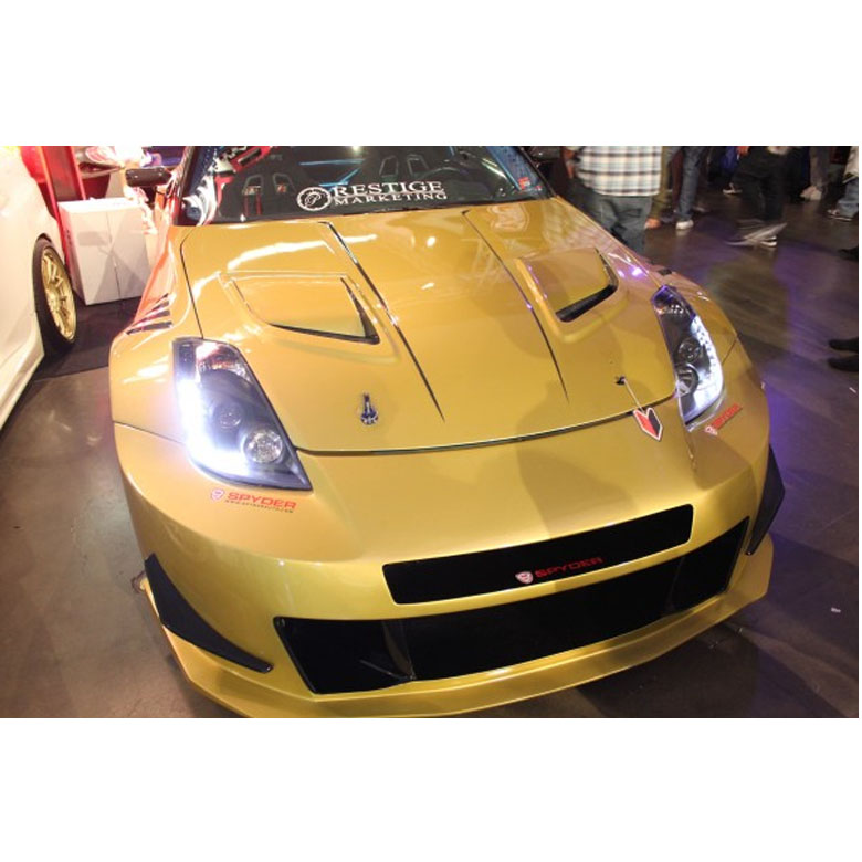 03 05 Nissan 350z Hid Model Z33 Euro Style Led Drl Projector