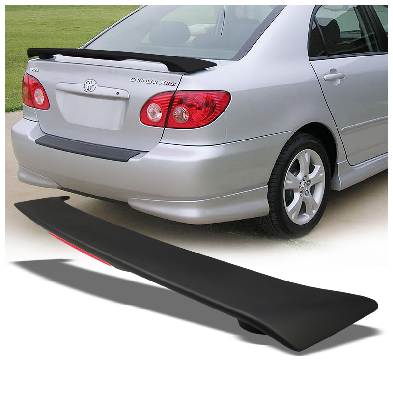 03 08 toyota corolla sport light weight trunk spoiler wing. Black Bedroom Furniture Sets. Home Design Ideas
