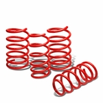 "04-07 Subaru WRX/STI 1.7"" Drop Suspension Lowering Springs - Red"
