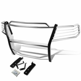 04-08 Ford F150 Pickup Truck Front Bumper Protector Brush Grille Guard (Chrome)