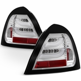 04-08 Pontiac Grand Prix LED Tube Tail Lights - Chrome