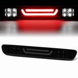 04-12 Chevy Colorado / GMC Canyon 3D LED Bar 3rd Third Brake Light Rear Cargo Lamp (Black / Smoked)