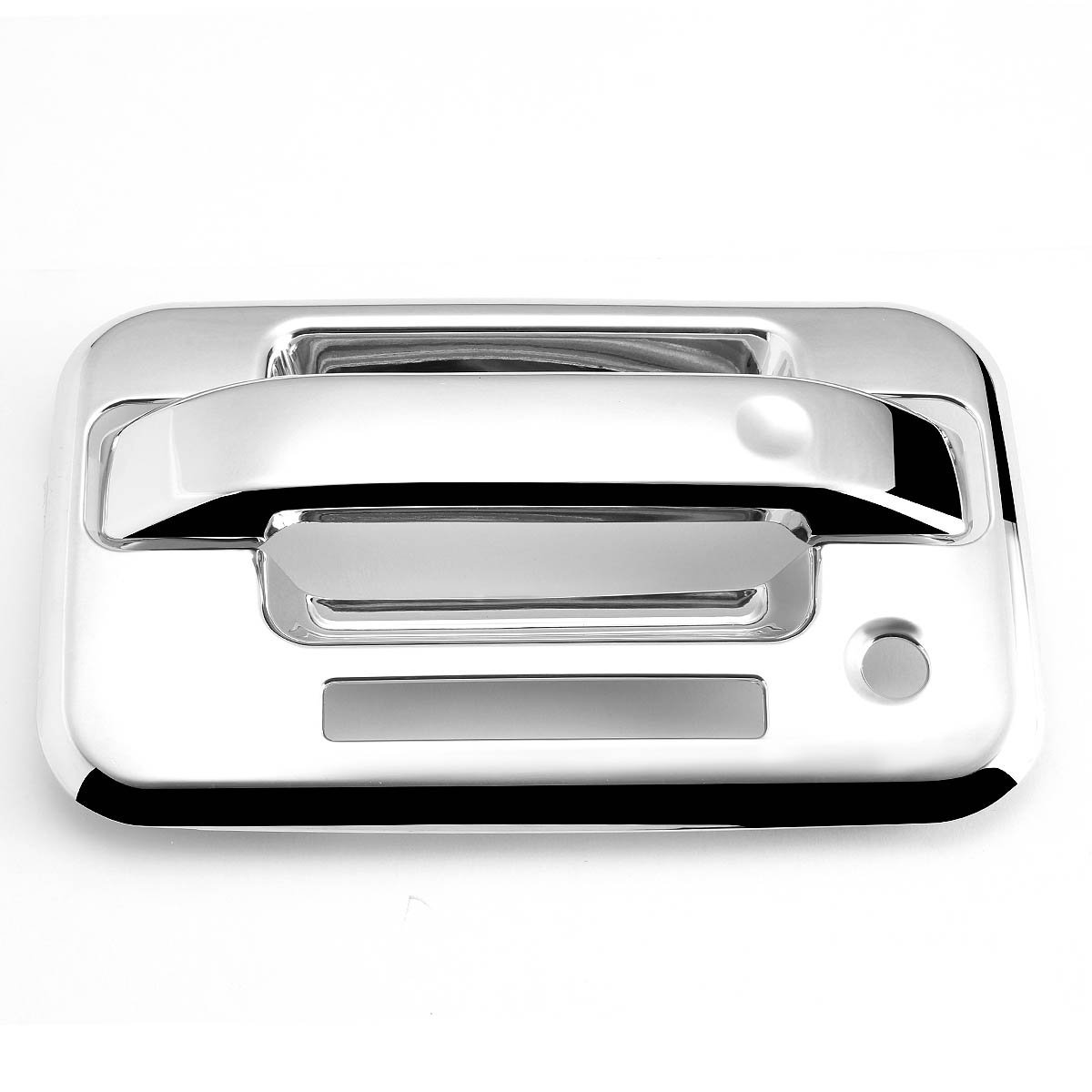 04 14 Ford F150 4dr 4pcs Exterior Door Handle Cover With Keypad Chrome By Auto Dynasty