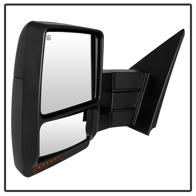 Ford F Pickup Powerheatedled Turn Signal Towing View Side Mirrors Pair