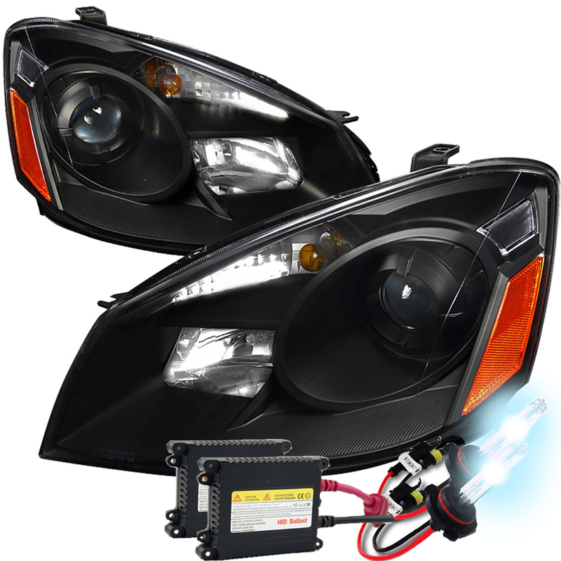 Headlights For 2006 Nissan Altima: HID Xenon + 2005-2006 Nissan Altima DEPO Replacement