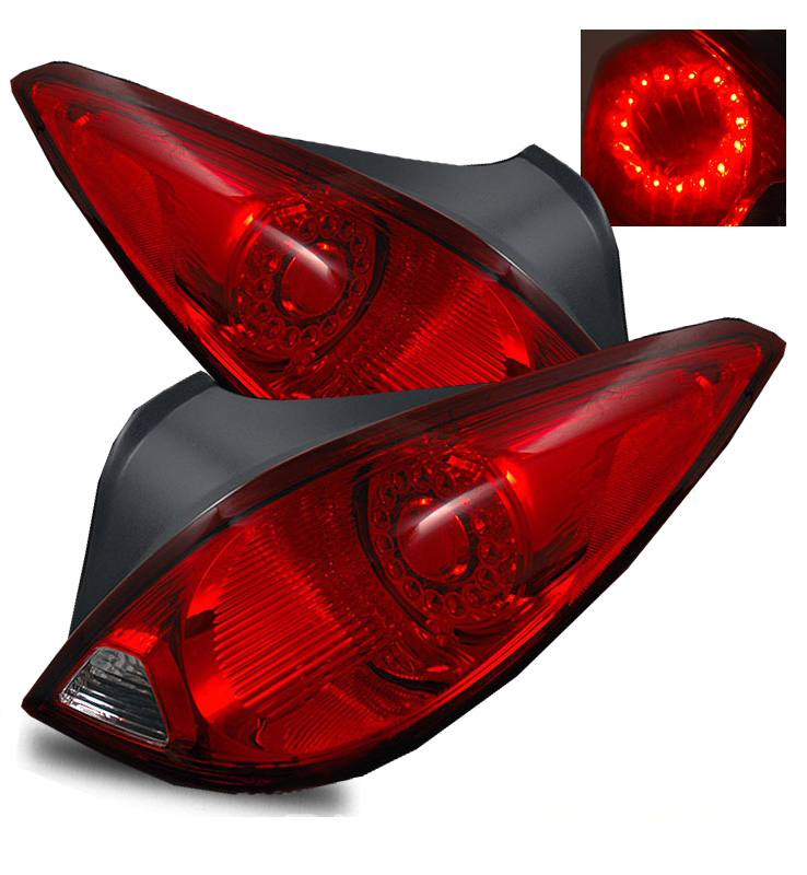 G6 Led Lights : Pontiac g gt gtp dr coupe led tail lights red