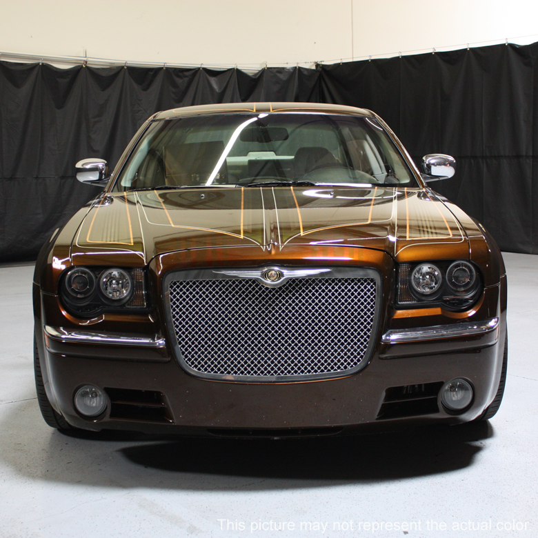 05 10 chrysler 300c dual halo led projector headlights smoked. Black Bedroom Furniture Sets. Home Design Ideas